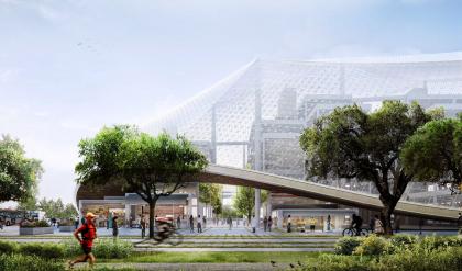 Новый кампус Google