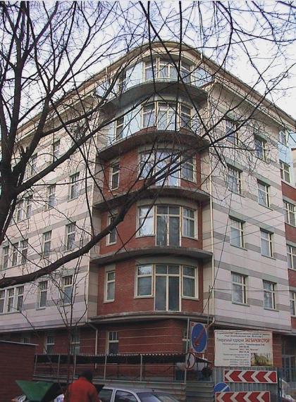 Жилой дом в 1-м Зачатьевском пер.