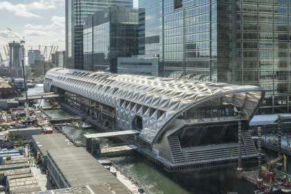 Станция Crossrail «Кэнери-Уорф»