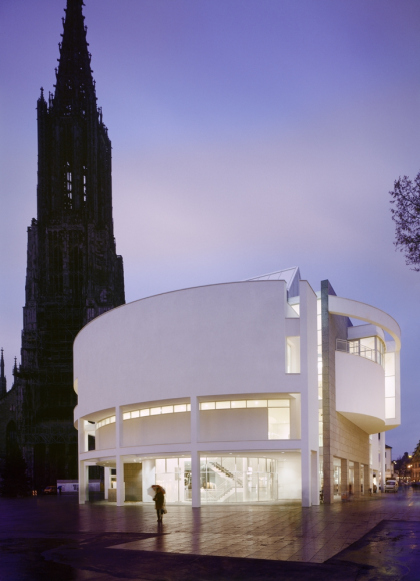 Выставочный зал Stadthaus Ulm © Scott Frances. Предоставлено Richard Meier & Partners Architects