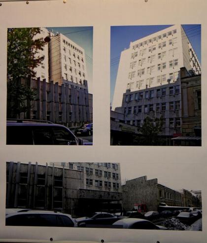 Реконструкция больничных корпусов на Садовой-Черногрязской, 14/19