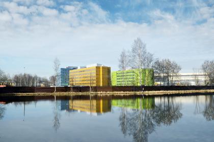 Многофункциональный комплекс «Времена года» на  территории бывшей фабрики «Россия»