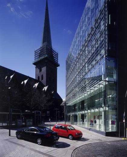 Торговый и офисный центр на Кляйне Розенштрассе