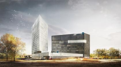 Конкурсный проект гостиничного комплекса Radisson Blu Moscow Riverside Hotel&SPA