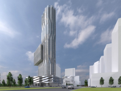 Башня на территории бывшего завода ЗИЛ–ZIL Gateway Tower