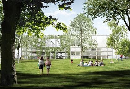 Школа в районе Ауде-Доккен