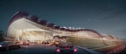 Комплекс 3-го терминала Таоюаньского международного аэропорта