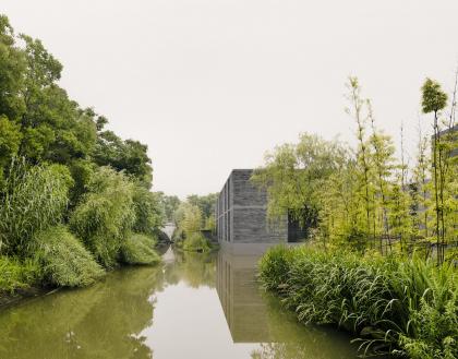 Комплекс жилых построек в водном парке Сиси