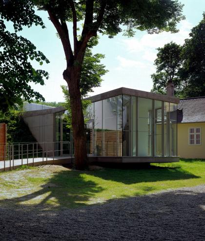 Музейный корпус мемориала Хельденберг