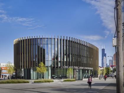 Филиал Чикагской публичной библиотеки в районе Чайнатаун