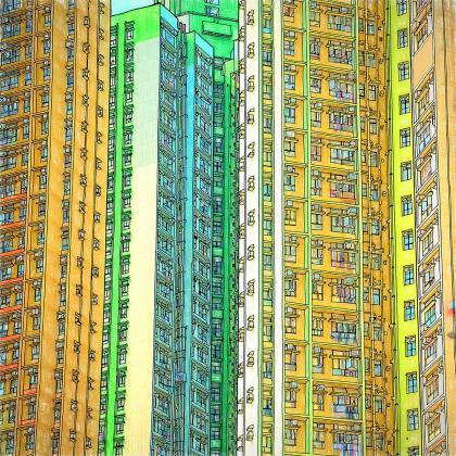 Вышла книжка-раскраска с шедеврами мировой архитектуры
