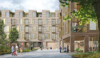 Future Sølund – жилой комплекс для пожилых людей и молодежи