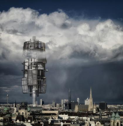 Башня-электростанция спроектирована для австрийской столицы