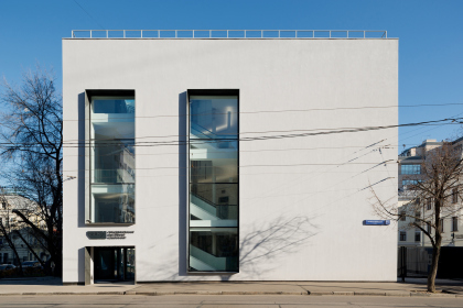 Реконструкция здания бывшей фабрики-кухни на ул. Новокузнецкая