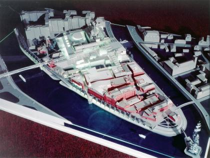 Комплексная реконструкция застройки территории стрелки Болотного острова