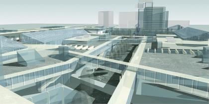 Реконструкция привокзальных площадей, г. Мытищи