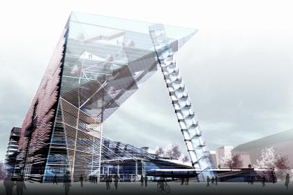 Культурно-деловой центр «Метеор» с ледовым дворцом