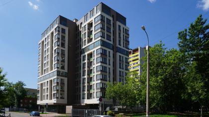 Жилой дом на улице 2-ая Самаринская