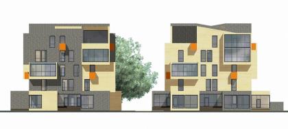 Малоэтажный жилой комплекс, пос. Паведники
