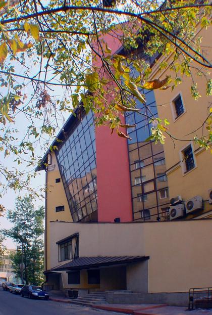 Реконструкция административного здания, ул. Плющиха