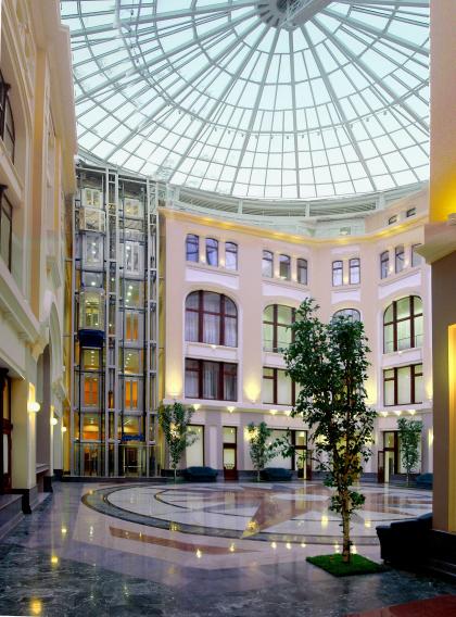 Реконструкция здания Центральной избирательной комиссии РФ