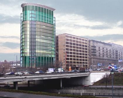 Реконструкция здания «Лукойл», Яузская наб.