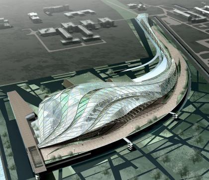 Проект конгресс-центра «Константиновский» мастерской А.Асадова