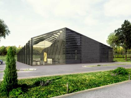 Концепция здания Гольф Академии и вспомогательных сооружений в составе гольф-клуба