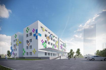 Проект реконструкции типовой поликлиники в Новопеределкино