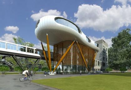 Проект здания диспетчерского центра в г. Аксу, Казахстан