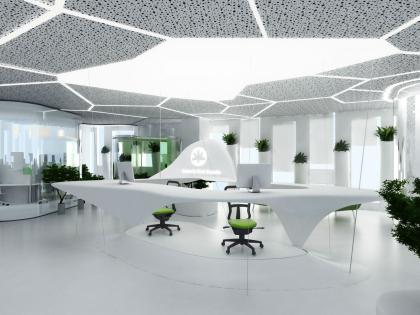 Концепция офисного пространства для компании Kimberly-Clark