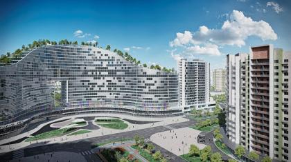 Концепция проекта планировки территории объекта «Микрорайон «ЦЕНТР-2»