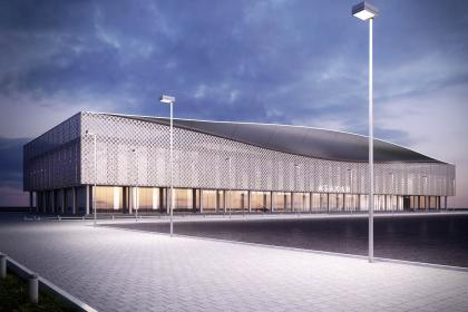 Проект реконструкции фасадов аэропорта города Абакан