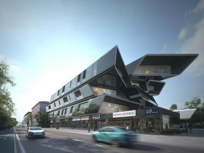 Концепция реконструкции здания на улице Малая Ордынка