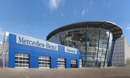 """Mercedes-Benz"" company′s trade and service centre ""Avilon"""