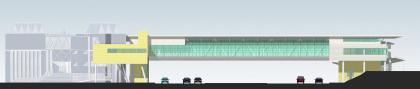 Торгово-пешеходный мост, ул. 26 Бакинских комиссаров