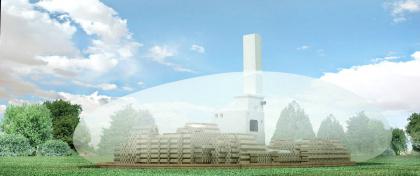 Проект павильона на фестиваль Архстояние 2012