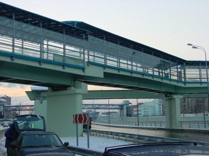 Пешеходный мост между 1-м и 2-м Кожуховскими проездами