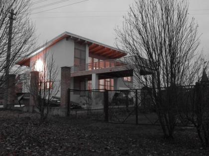 Загородный дом в поселке Бушарино