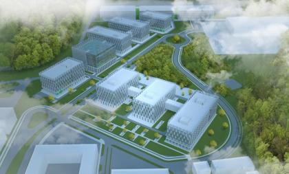Комплекс зданий технопарка ОАО «Сбербанк России»