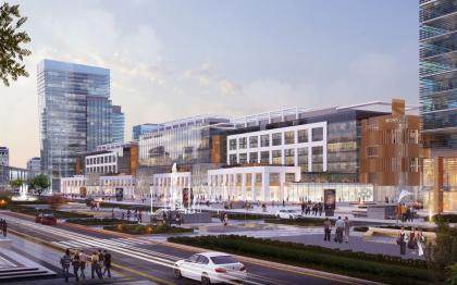 Новый железнодорожный вокзал Астаны