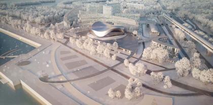 Архитектурно-планировочная концепция проекта «Новосибирск-Арена»