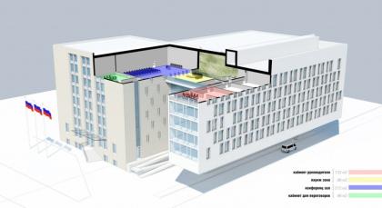 Реконструкция здания Государственного Архива РФ