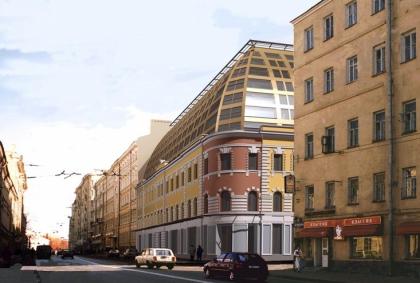 Жилой дом на улице Остоженка