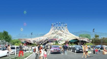 Новое здание цирка в Баку