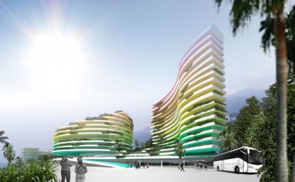 Курортный комплекс в Сочи