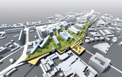 Развитие территории Курского вокзала