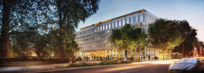 Бывшее здание посольства США в Лондоне – трансформация в отель