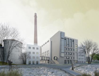 Жилой комплекс с реставрацией и приспособлением для современного использования объекта культурного наследия «Электростанция тепловая (ТЭЦ)»