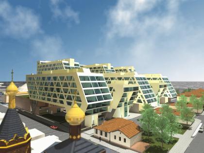 Residential complex, Krasnodar